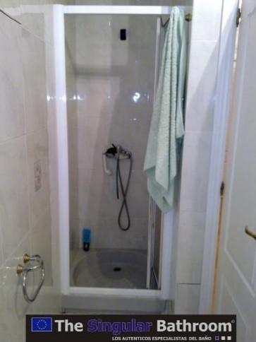 Reformar ducha por una ducha mas amplia
