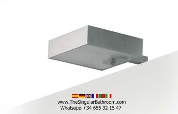 Aplique baño para instalar a marco de espejo