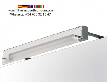 Aplique fluorescente para espejo de baño