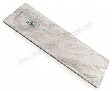 Plato de ducha de mármol natural de Carrara