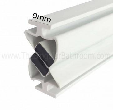 Junta magnética cierre mampara