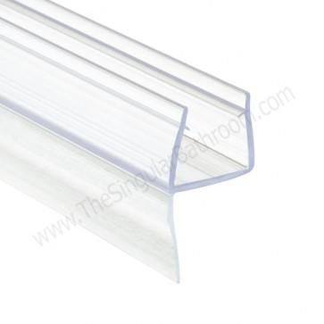 Junta perfil para puertas vidrio, mamparas ducha