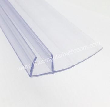 Junta de sellado lateral o de cruce para puertas de vidrio de 10mm
