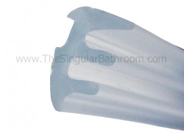 Junta de presión para vidrio mampara o acrílico