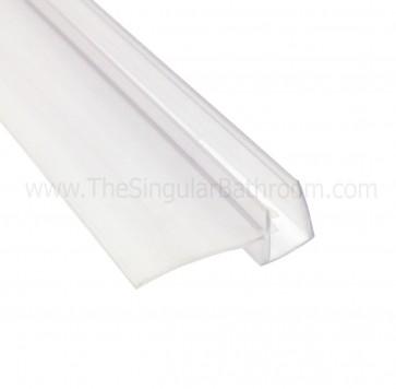 Perfil de cruce lateral para vidrio de 4, 5 y 6mm.