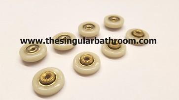Rodamientos de mampara 16 mm especial Nylon
