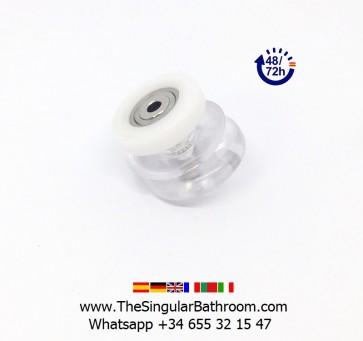 Acomplamiento de plastico para puerta de vidrio de mampara y ducha
