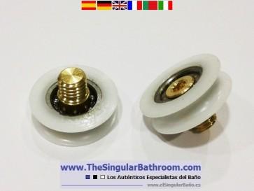 Repuestos mamparas, rodamientos, cojinetes, ruedas o rodillos de ducha