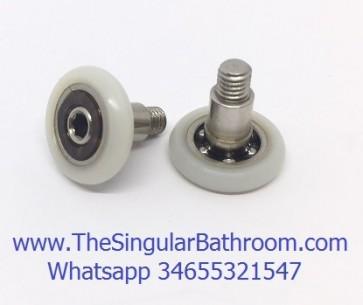 Rueda mampara para soporte P 041122