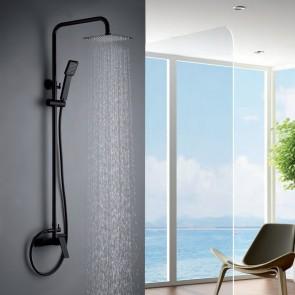 Columna de ducha monomando ART en color Negro