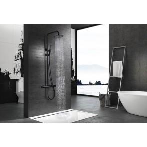 Columna de ducha color negro