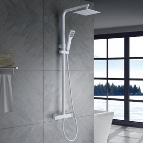 Columna de ducha monomando FIYI en color Blanco