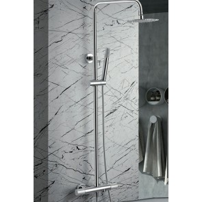 Columna de ducha y bañera termostática LINE