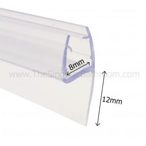 Perfil de recambio junta de mampara vierteaguas 6 mm