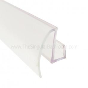 Vierte aguas inferior para puerta de vidrio de 5 y 6mm corredera