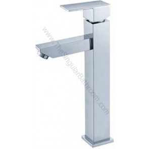 Grifo lavabo alto sobre encimera RECTO