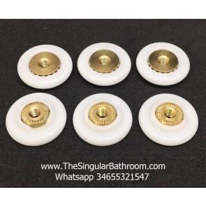 Rodamiento de puerta ducha Diametro 20mm