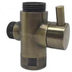 Intercambiador de columna de ducha bronze