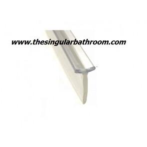Junta sellado mampara ducha para rail o riel de aluminio.