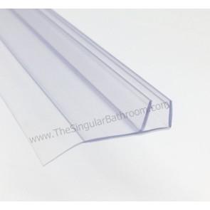 Junta para puertas de vidrio de 8mm con aleta lateral o de cruce