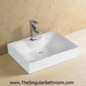 Lavabo de diseño rectangular