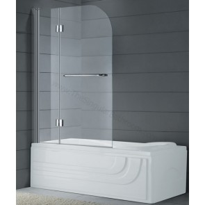 MAMPARA DE BAÑO PLEGABLE GME GLASS