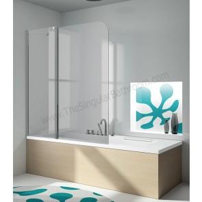 Mampara de baño KASSANDRA de 120 cms