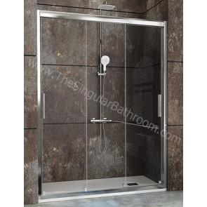 Mampara de ducha frontal KASSANDRA CITY 3 puertas correderas