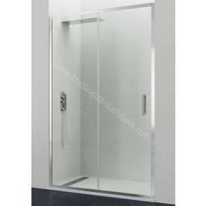 Mampara GME TITAN PRESTIGE frontal fijo + puerta corredera