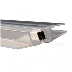 Junta imán de mampara ducha y baño para vidrio de 6 y 8 mm espesor.
