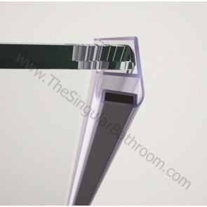 Perfil magnético lateral para vidrio