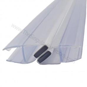 Junta imán para puerta de vidrio de 10 o 12 mm espesor