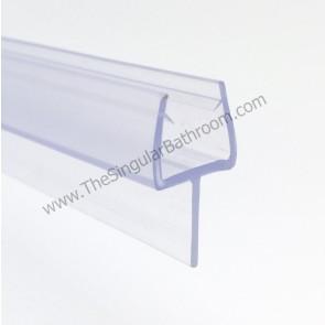 Perfil junta  de sellado para vidrio de 10mm