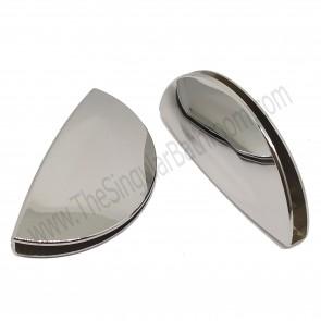 Tirador uñero universal para puerta de ducha vidrio de 4, 5 y 6mm