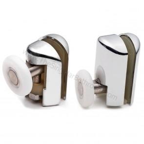 Pieza con rodamiento de 23mm para puerta de ducha corredera