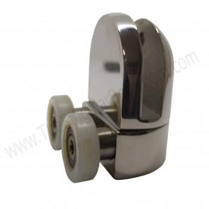 Recambio doble rodamiento 22mm para mampara de ducha deslizante