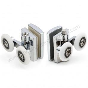 Recambio soporte con doble rodamiento para mampara de ducha Luxban, Juliatti