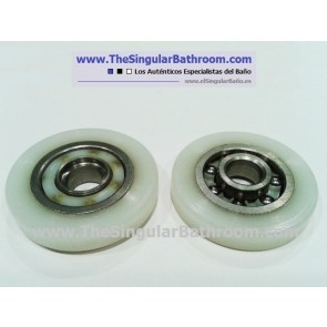 Rodamiento - Recambio para mampara metalkris