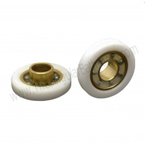Rodamiento de 25mm para mampara de ducha