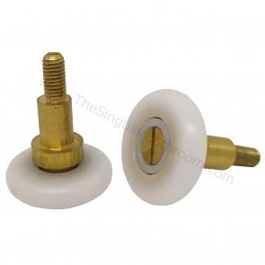 Rodamiento con tornillo m5 para mampara de ducha