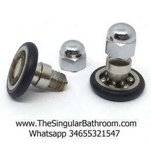 Rodamiento de 2 centímetros con tornillo mecanizado