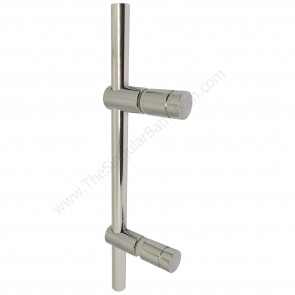Tirador universal para puerta de mampara de ducha