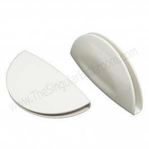Tirador o asa uñero universal para puerta de ducha vidrio de 4, 5 y 6mm