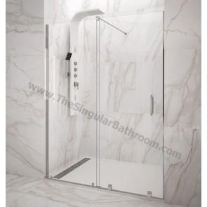 Mampara de ducha VITRO GME 1 Fijo + 1 Corredera