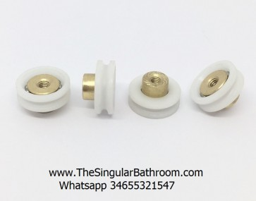 Pulley of 19mm for screens shower Maxiban